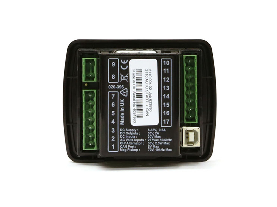 Centralita de control DSE 3110 Manual y Auto arranque + CAN 3110-02 Deep Sea Electronics