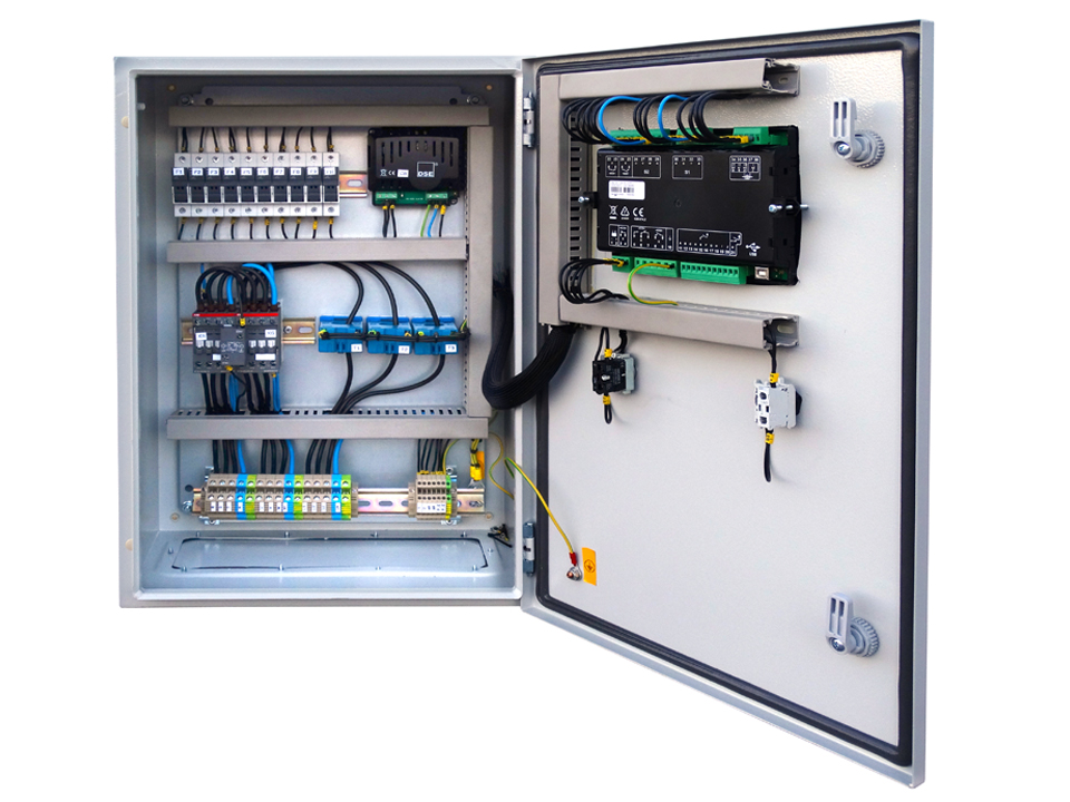 AUTOMATIC TRANSFER SWITCH PANEL (ATS) 4 POLES THREE-PHASE 45 AMP ...