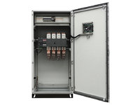 AUTOMATIC TRANSFER SWITCH PANEL (ATS) 4 POLES THREE-PHASE 3200 AMP | MOTORIZED SELECTOR ABB
