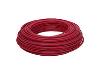 Cable Eléctrico Flexible 10 mm (100 metros) Color: Rojo HV07V-K