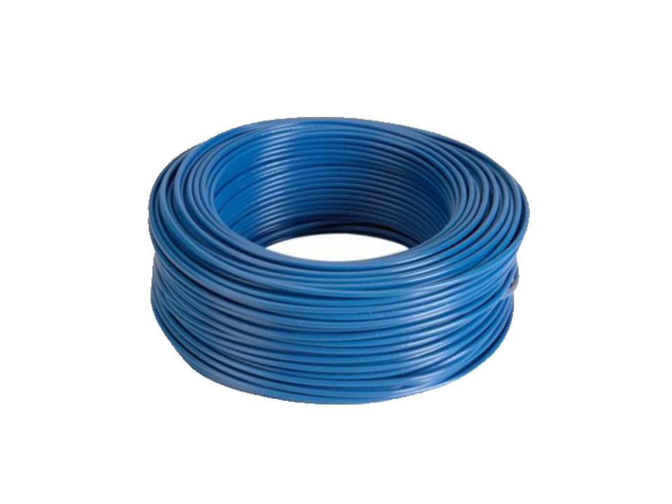 Flexible Electric Cable 6 mm (100 meters) Colour: Blue HV07V-K ...