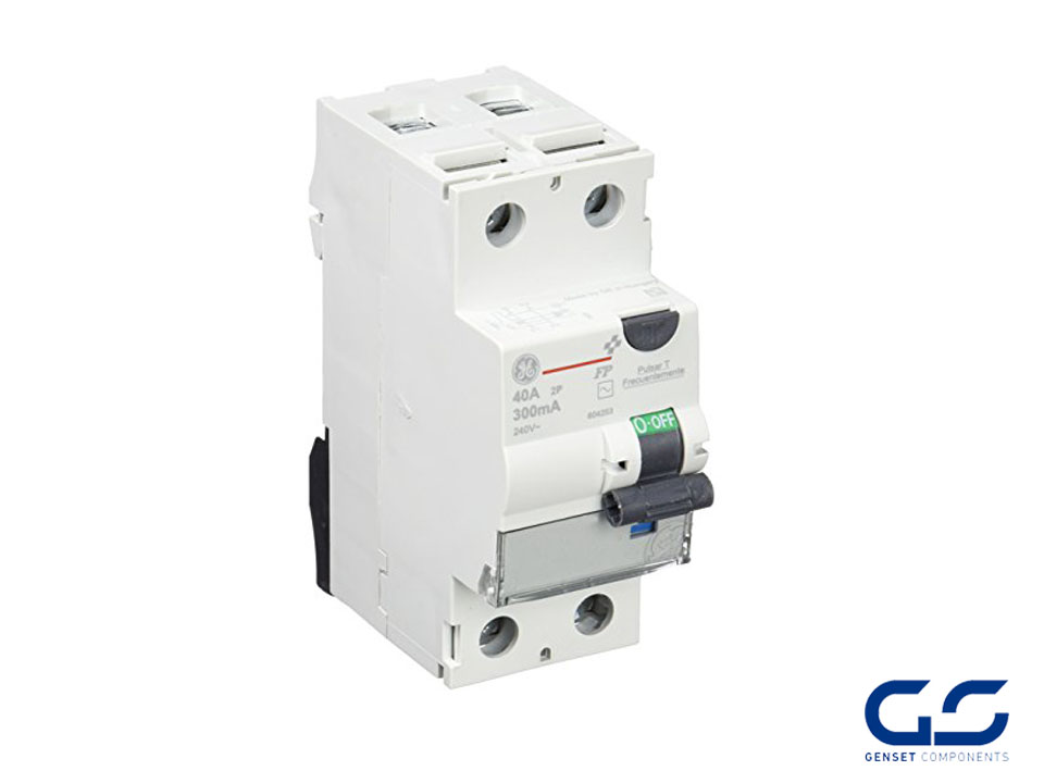 Beautiful Differential Circuit Breaker 2P 40A 300mA Class AC