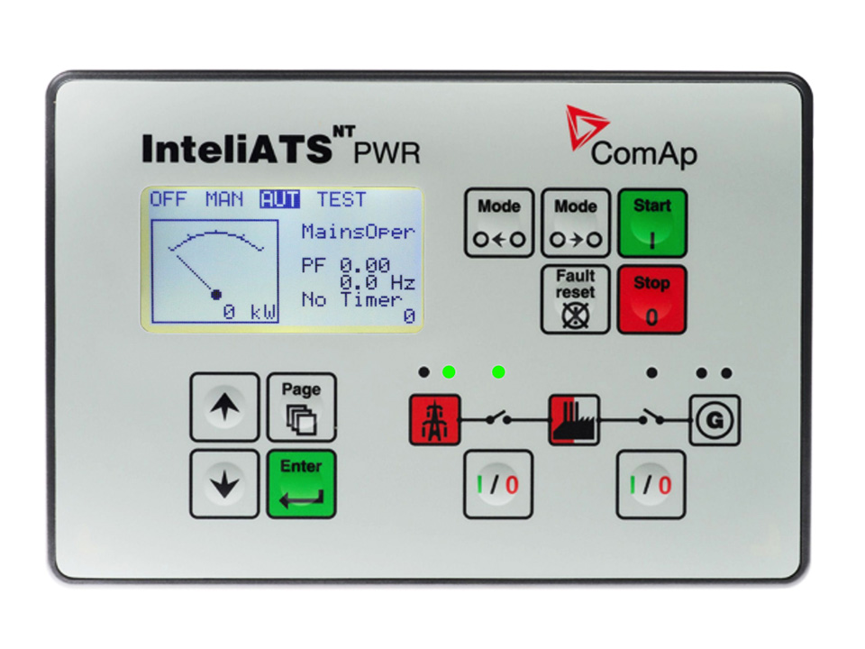 InteliATS NT PWR Automatic Transfer Switch (ATS) Controller (IA-NT PWR)